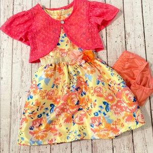 Other - Floral 3 piece dress